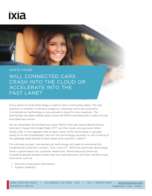 image from Will Connected Cars Crash Into The Cloud Or Accelerate Into The Fast Lane?