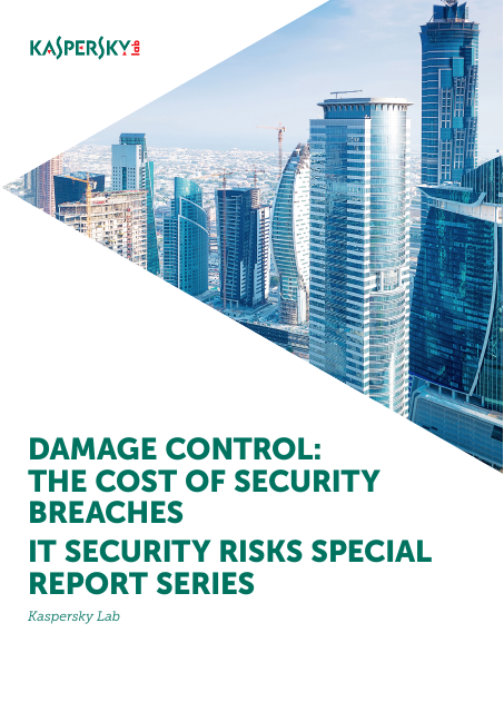image from Damage Control: The Cost of Security Breaches