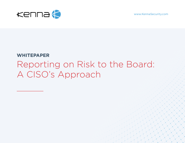 image from Reporting on Risk to the Board