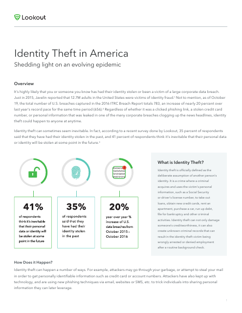 image from Identity Theft In America
