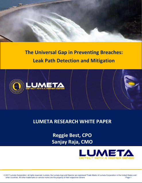 image from The Universal Gap In Preventing Breaches: Leak Path Detection And Mitigation