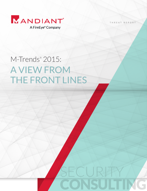 image from M-Trends 2015