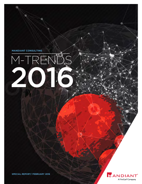 image from M-Trends 2016