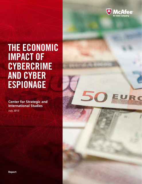 image from The Economic Impact of Cybercrime and Cyber Espionage