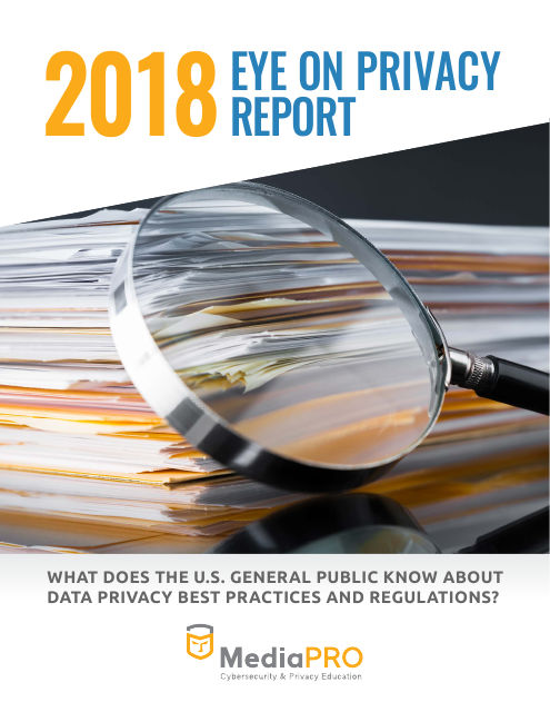 image from 2018 Eye On Privacy Report