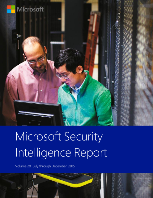 image from Security Intelligence Report Volume 20