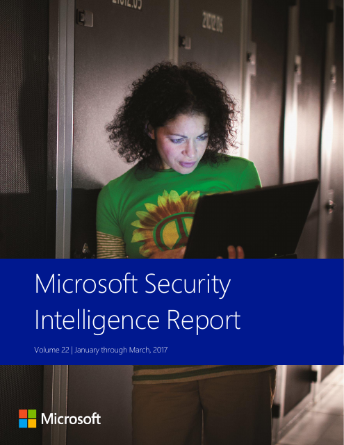 image from Microsoft Security Intelligence Report Volume 22
