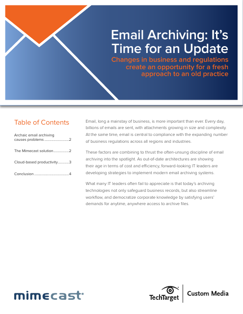 image from Email Archiving: It's Time For An Update