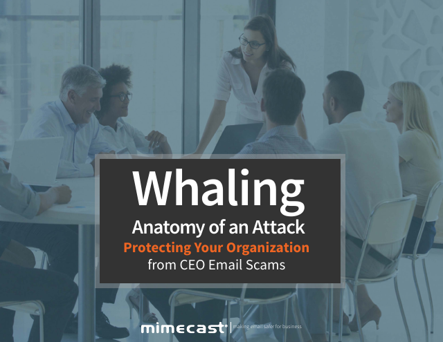 image from Whaling Anatomy Of An Attack: Protecting Your Organization From CEO Email Scams