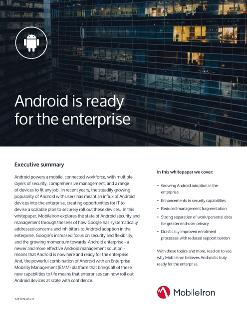 image from Android Is Ready For The Enterprise
