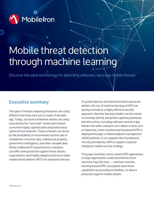 image from Mobile Threat Detection Through Machine Learning