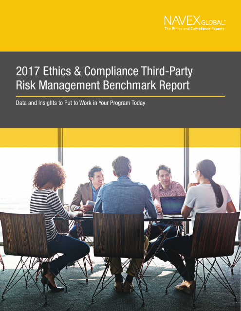 image from 2017 Ethics And Compliance Third-Party Risk Management Benchmark Report