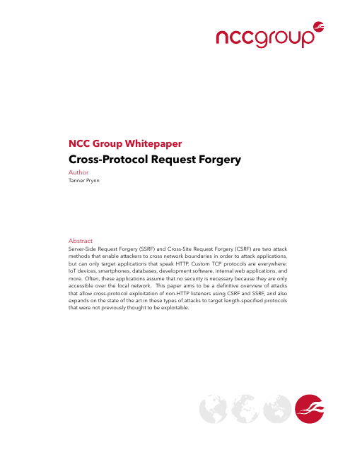 image from Cross-Protocol Request Forgery