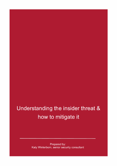 image from Understanding The Insider Threat And How To Mitigate It