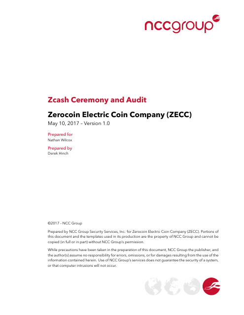 image from ZCash Ceremony And Audit