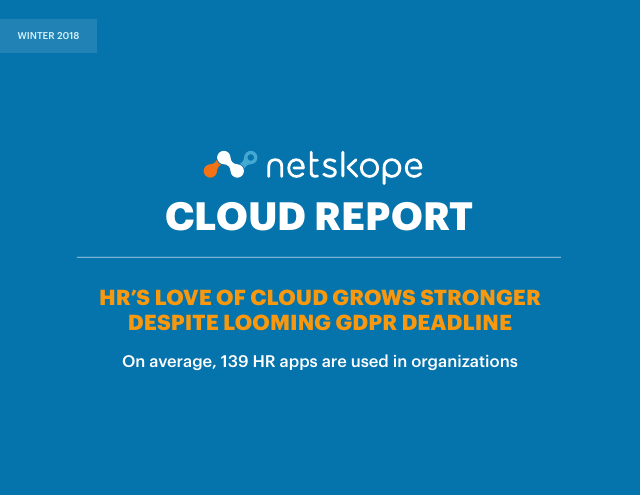 image from Winter 2018 Netskope Cloud Report