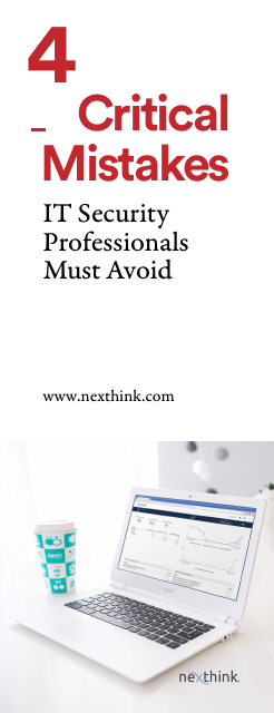 image from 4 Critical Mistakes IT Security Professionals Must Avoid