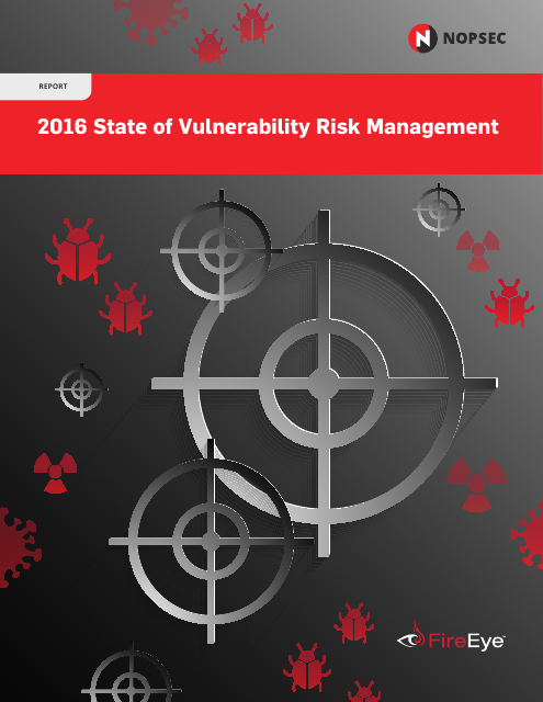 image from 2016 State of Vulnerability Risk Management