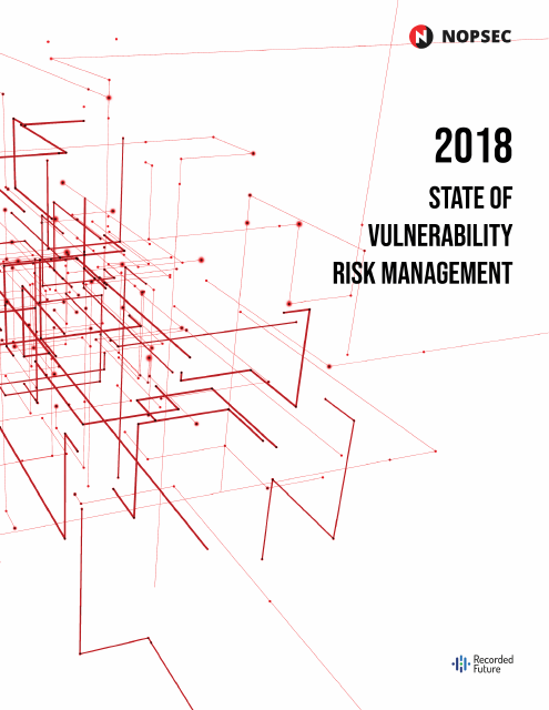 image from 2018 State Of Vulnerability Risk Management