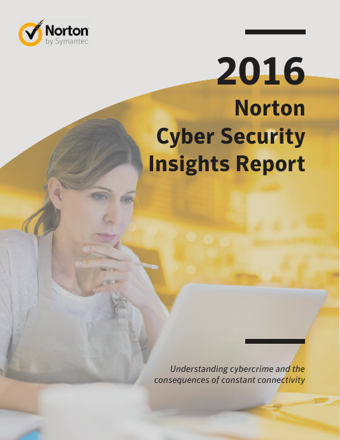 image from 2016 Norton Cyber Security Insights Report