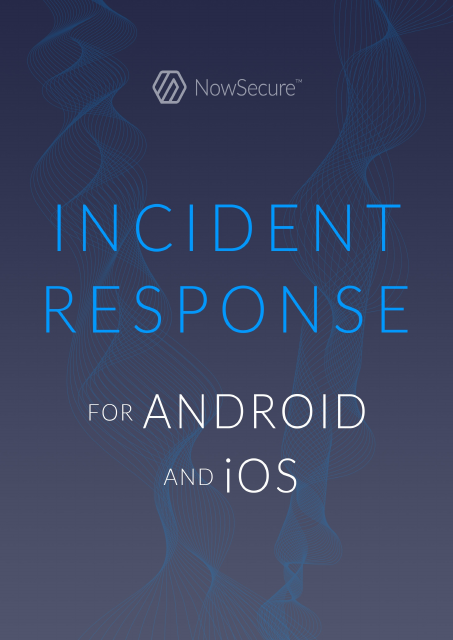 image from Incident Response For Android And iOS