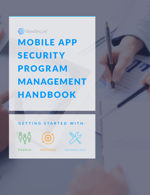 image from Mobile App Security Program Management Handbook
