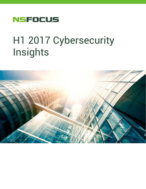 image from H1 2017 Cybersecurity Insights