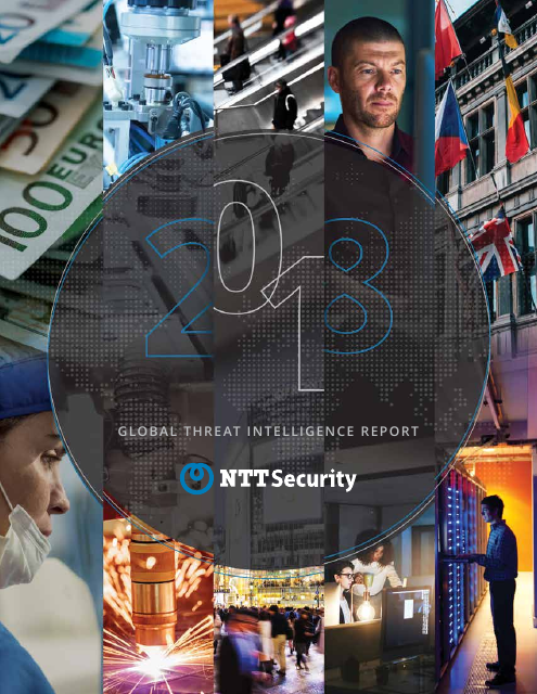 image from The NTT Security 2018 Global Threat Intelligence Report
