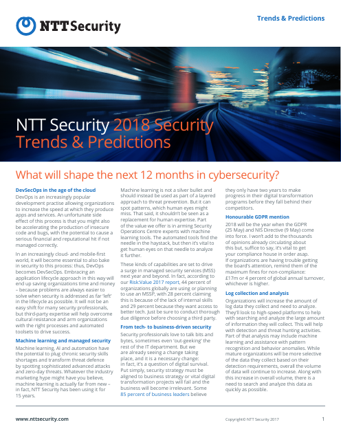 image from 2018 Security Trends & Predictions
