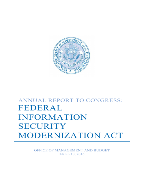 image from Federal Information Security Modernization Act Report to Congress