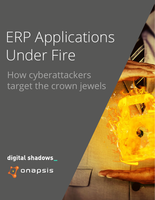 image from ERP Applications Under Fire: How CyberAttackers Target The Crown Jewels