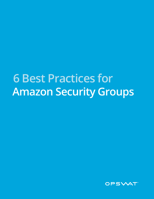 image from 6 Best Practices For Amazon Security Groups