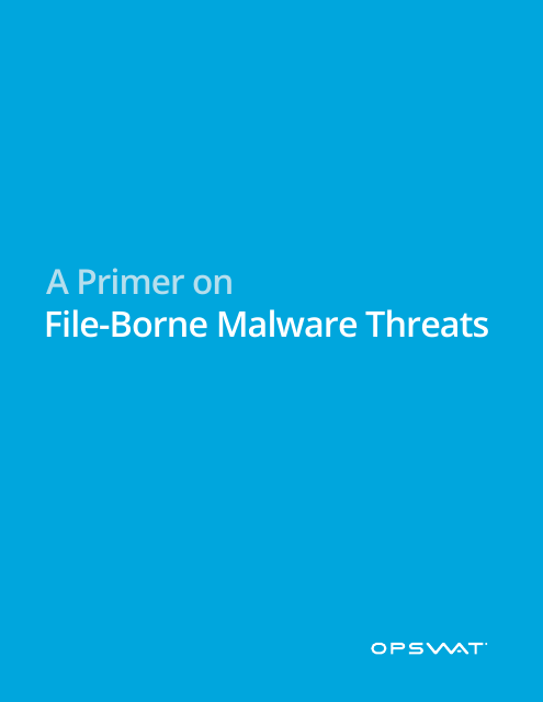 image from A Primer On File-Borne Malware Threats