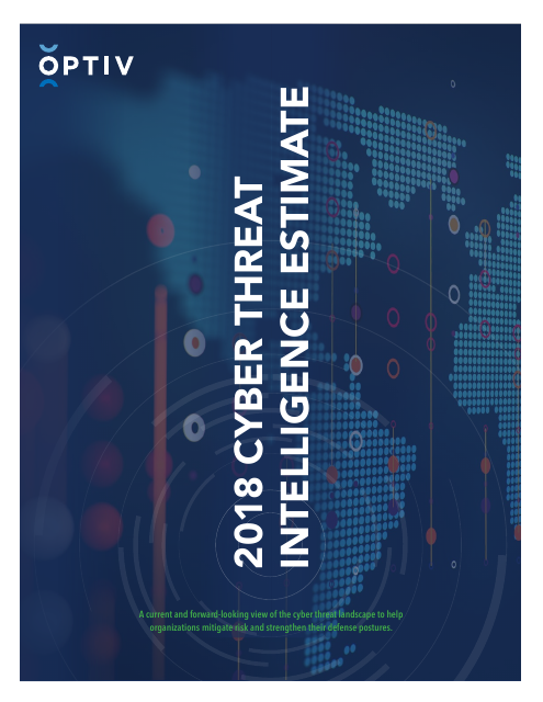 image from 2018 Cyber Threat Intelligence Estimate