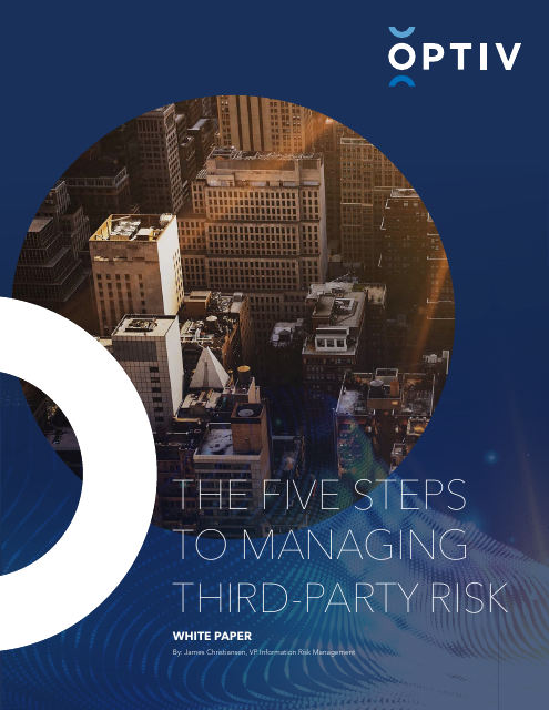 image from The Five Steps To Managing Third Party Risk