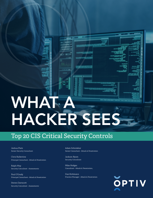 image from What A Hacker Sees: Top 20 CIS Critical Security Controls