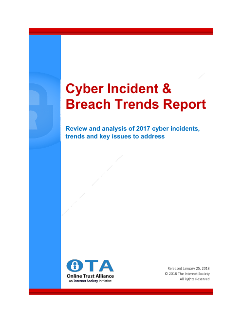 image from Cyber Incident And Breach Trends Report