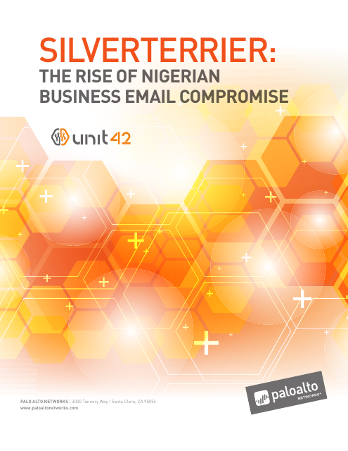 image from SilverTerrier: Rise Of Nigerian Business Email Compromise