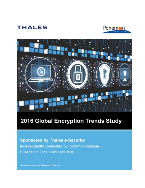 image from 2016 Global Encryption Trends Study