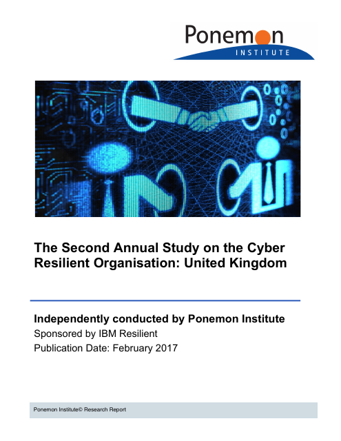 image from The Cyber Resilient Organisation in the United Kingdom: Learning to Thrive against Threats