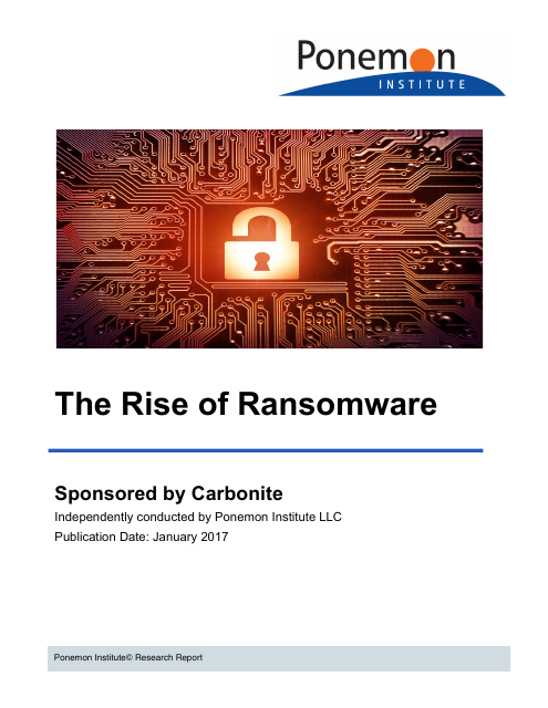image from The Rise of Ransomware