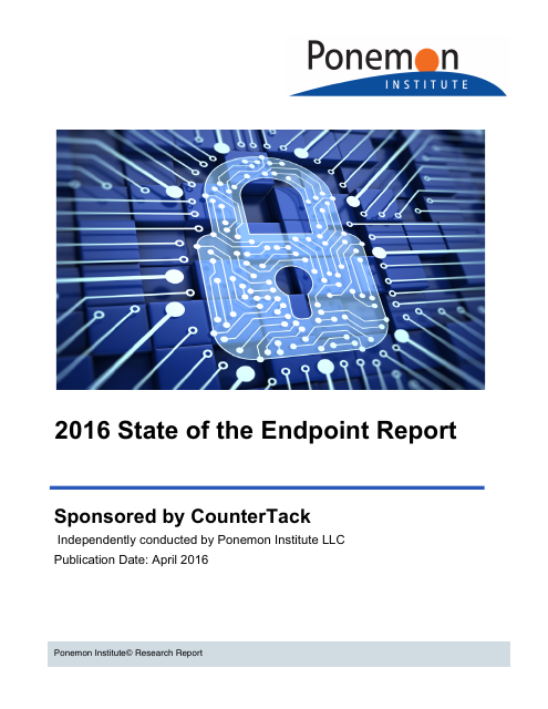 image from 2016 State of the Endpoint Report