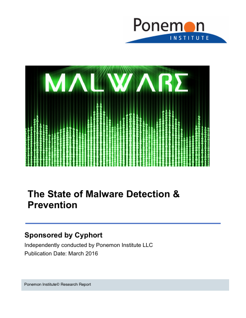 image from The State of Malware Detection & Prevention