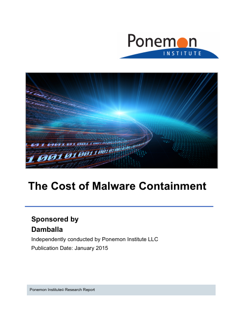 image from The Cost of Malware Containment