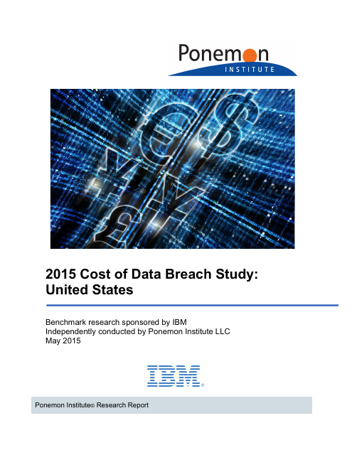 image from 2015 Cost of Data Breach Study: United States