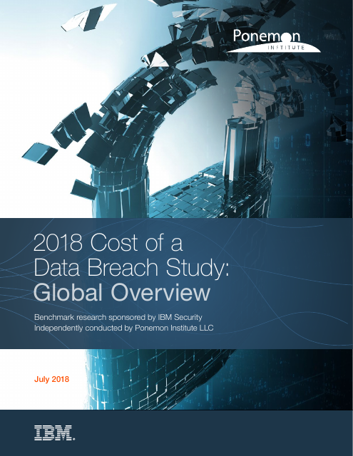 image from 2018 Cost Of A Data Breach Study: Global Overview