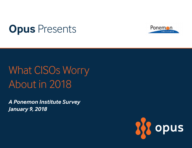 image from What CISO's Worry About In 2018