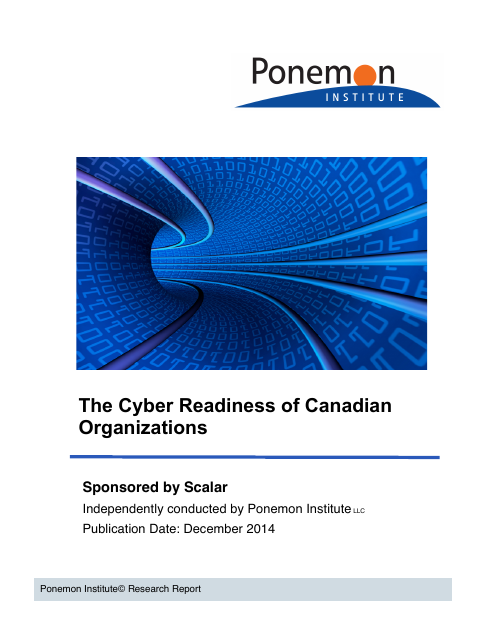 image from The Cyber Readiness of Canadian Organizations