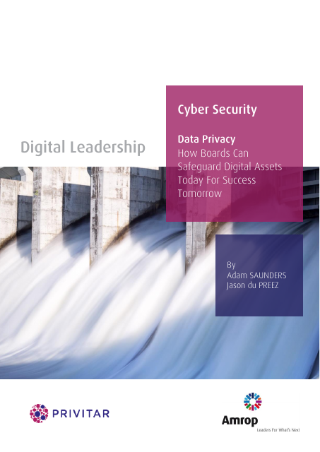 image from Data Privacy: How Boards Can Safeguard Digital Assets Today For Success Tomorrow