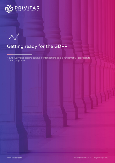 image from Getting Ready For The GDPR